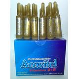 Ampola Arovitel Vitamina A + E Vida E Brilho No Cabelos 36un