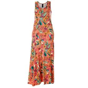 Vestido Longo Feminino Averzzy - Coral