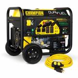 Generador Planta Electrica 6200 Watts 110/220 Gasolina/gas