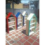 Libreras Infantiles En Forma De Casita