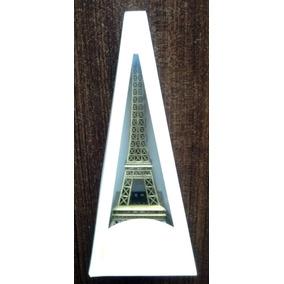 Torre Eiffel París A Escala Adorno Metal 15,5 Cm Subasta $ 1