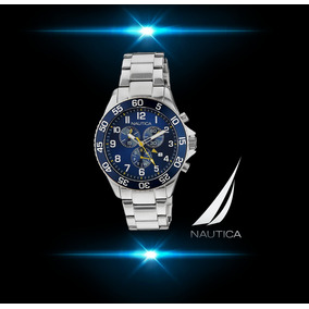 Reloj Nautica Hombre Nai17508g Cronógrafo Elegante Deportivo
