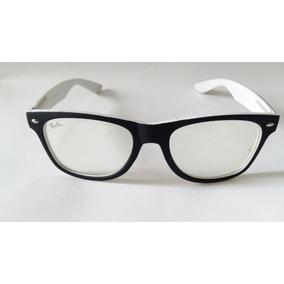 lentes ray ban blanco y negro