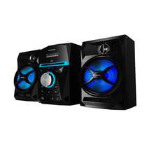 Minicomponente Midi Philco Sap300 1500w Luz Radio Cd Usb Mp3