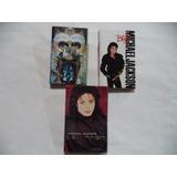 Michael Jackson 3 Cassettes Tapes De Coleccion