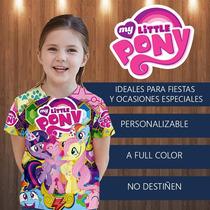 My Little Pony Franela Cotillon Fiesta Invitacion Regalo