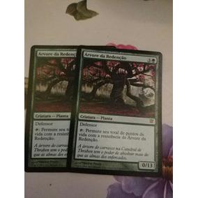2x Cards, Árvore Da Redenção Magic Tcg