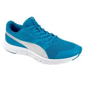 Tenis Puma 20810 Color Azul Dama Tallas 22 A 25