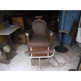 Antiga Cadeira De Barbeiro Ferrante (c-186)