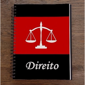Caderno Personalizado Direito Curso 10 Matérias