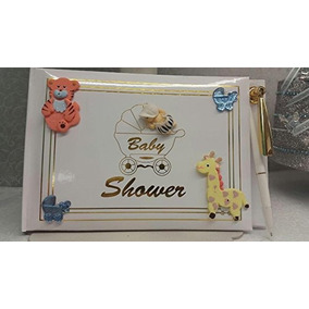 Baby Shower Libro Safari Animales De La Selva Del Bebé Firm