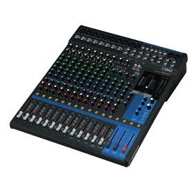 Yamaha Mg16xu 16 En Amplificador De La Mezcladora De La Pa;