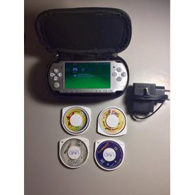 Psp Sony Slim 3001 Prata Desbloqueado