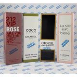 Lote Com 4 Frascos De Perfumes Importados Contratipos. Sugoi