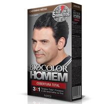 Shampoo Tonalizante Biocolor Homem - Castanho Médio