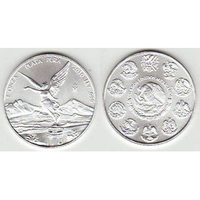 Monedas Onza Troy De Plata Libertad .999 1 Oz