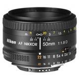 Lente Objetivo Fijo Nikon Nikkor 50 Mm F/1.8d Af