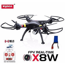 Dron Drone Gopro Helicóptero Syma X8w Camara Tiempo Real