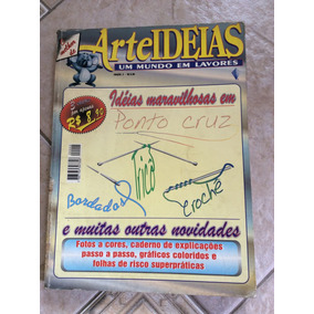 Revista Àlbum De Coleção Arte Ideias Edição 2 Ponto Cruz