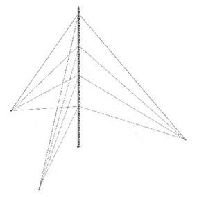 Kit De Torre . 12m Galvanizada En Caliente Ktz-30g-012