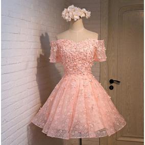 Vestido Renda Importado Casamento Civil/ Baile/ Festa/ Dia