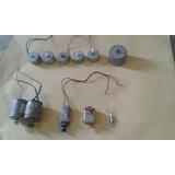 Motores De Varios Tamaños Para Proyectos De Electronica