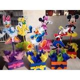 Centro Mesa Casa Mickey Mouse, Fiesta Infantil