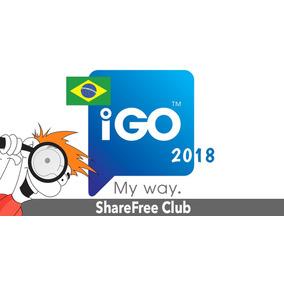 Mapa Brasil 2018 P/ Igo Igo8 Primo Estereos Y Gps Chinos