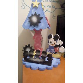 Chupetera Mickey Mouse, Centro De Mesa Mickey Mouse