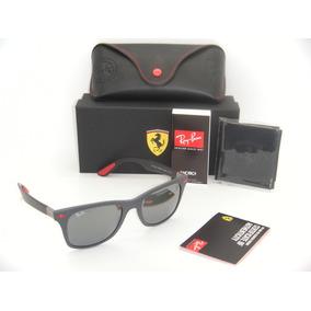 Oculos Ray Ban Rb4195 Wayfarer Liteforce Ferrari