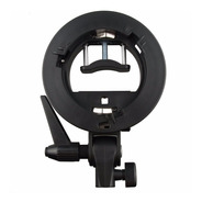 Bracket Soporte Adaptador Usar Flash Speedlite Con Bowens