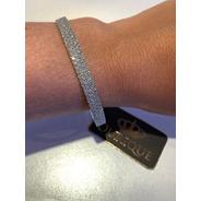 Bracelete Argola Ouro 18k Com 300 Diamantes Sob Encomenda