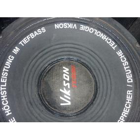 Vendo 2 Bocinas Turbos Vikson 18 Pulgadas Para Reparar