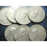 Moneda 25 Centavos Francisco I Madero Niquel