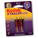 Baterias Kodak Aa Xtralife Alcalina Blister X2