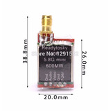 Mini Transmissor Fpv 600mw, 48ch, 5.8ghz, Drone, Mini Racer