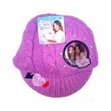 Gorro Lana Violetta Disney Licencia - Jugueteria Aplausos