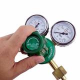 Regulador De Pressão Para Cilindro Gás Solda Oxigênio Brax