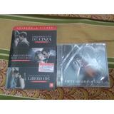 Box Dvd Coleção Cinquenta Tons + Cd De Música