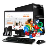 Pc Cpu Nueva Computadora Escritorio Completa Monitor