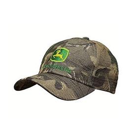 Sombrero De Camuflaje Reflexivo John Deere De Malla Con Log