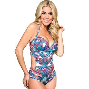 Malla Trikini Soft Con Arco Estilo Americano Yamiel 2211