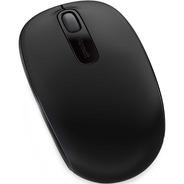 Mouse Óptico Microsoft 1850 Sem Fio Original Preto Nfe