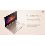Xiaomi Mi Notebook Air Intel Core I5 8gb Ram 256gb Ssd