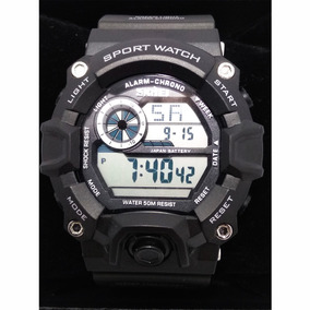 ae03568bb9f Relógio Masculino Skmei 1019 Digital Preto Militar Exercito