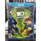 Nintendo Wii U Ben 10 Omniverse Nuevo Cerrado Original