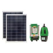 Bomba De Agua Anauger P100 + 2 Placas Solares 85w + Sensor