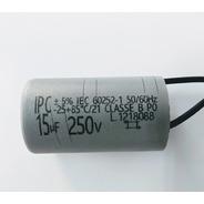 Kit C/ 5 Capacitor P/ Ventilador / Motor 15uf 250v 5%