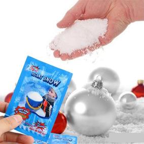 Kit Neve Artificial Mágica Decoração Festa Natal