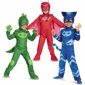 Disfraz Heroes En Pijama Pj Mask Original Nene Nena Educando